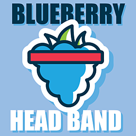 Blueberry Head Band