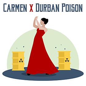 Carmen x Durban Poison