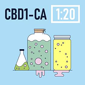 CBD 1-CA Ratio 1:20