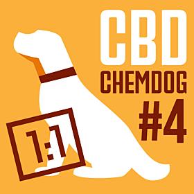 CBD Chemdog #4 (1:1) Feminized