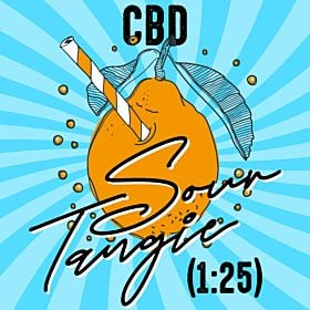 CBD Sour Tangie (1:25)