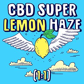CBD Super Lemon Haze (1:1)
