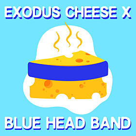 Exodus Cheese x Blue Head Band