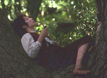 Frodo and his Pipe Weed