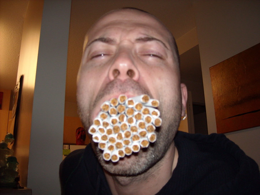 This Guy Makes Smoking Look Cool