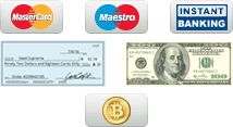 Secure Online Payment Logos