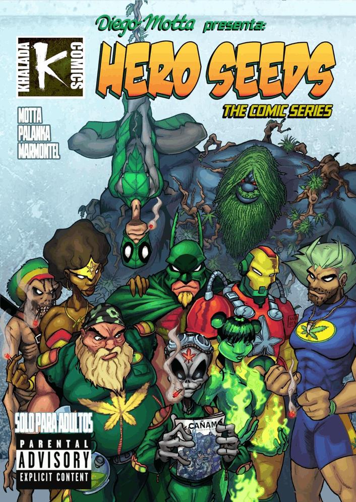 Hero Seeds comic