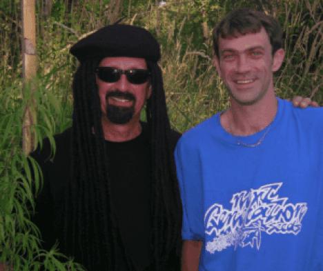 Jorge Cervantes filming at Next Generation Seeds farm, 2005