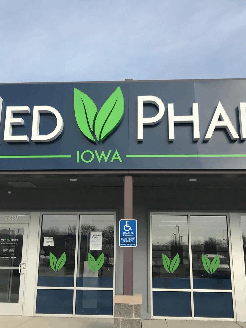 MedPharm, Iowa's marijuana dispensary in Windsor Heights